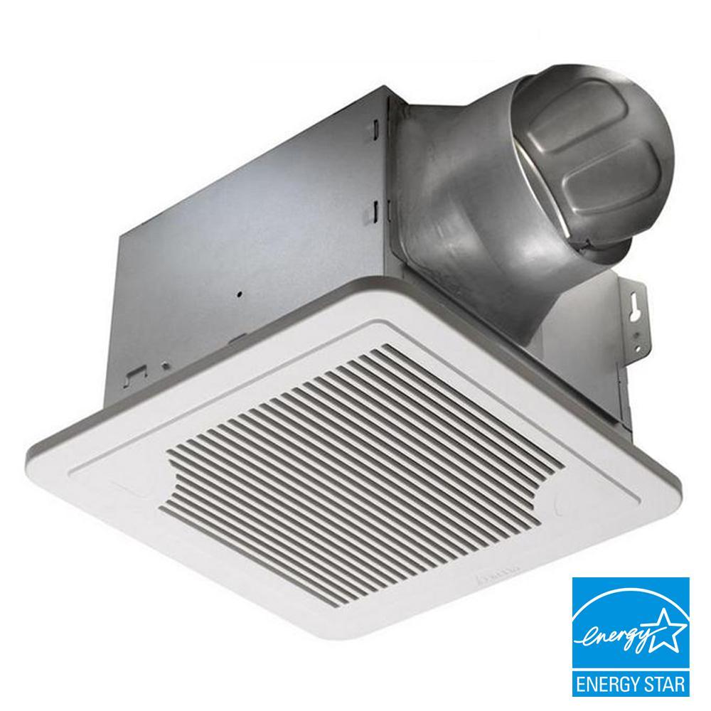 Delta Breez Smart Series 150 CFM Dual Speed Ceiling Bathroom Exhaust Fan, ENERGY STAR