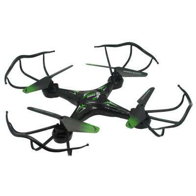 2.4GHz 4-Channel R/C Drone in Black with Altimeter and One Key Return