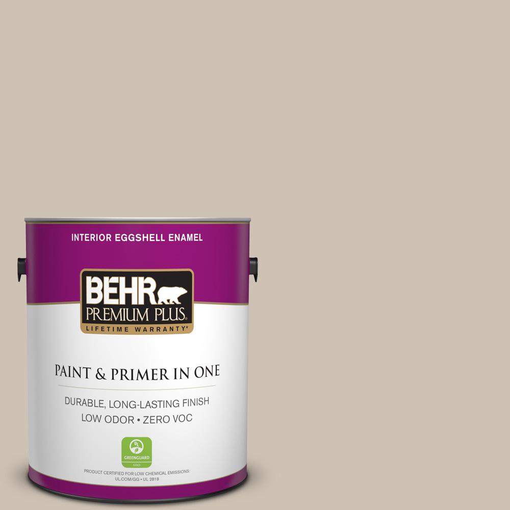 BEHR Premium Plus 1-gal. #BXC-04 Cavern Echo Eggshell Enamel Interior Paint