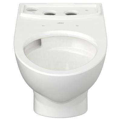Glenwall VorMax Elongated Toilet Bowl Only in White
