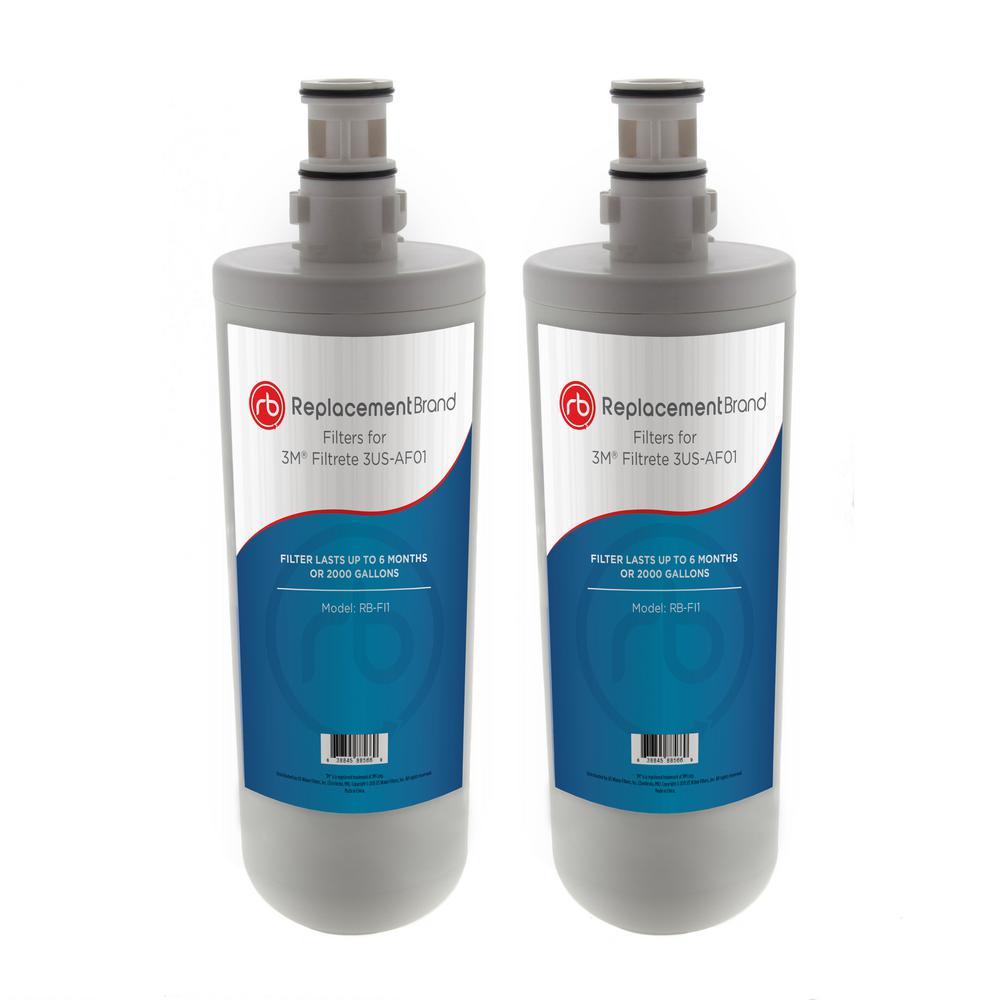 3US-AF01 Comparable Refrigerator Water Filter (2-Pack)