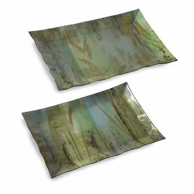 Field of Dreams Large Trays (Set of 2)