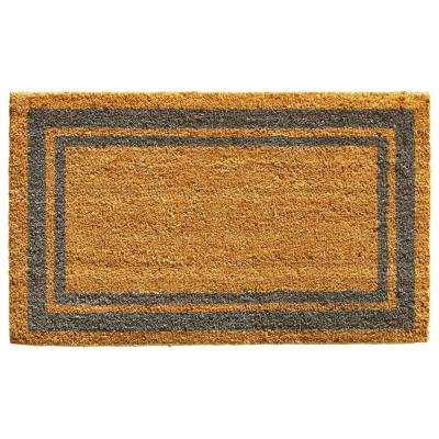Periwinkle Border Door Mat 18 in. x 30 in.