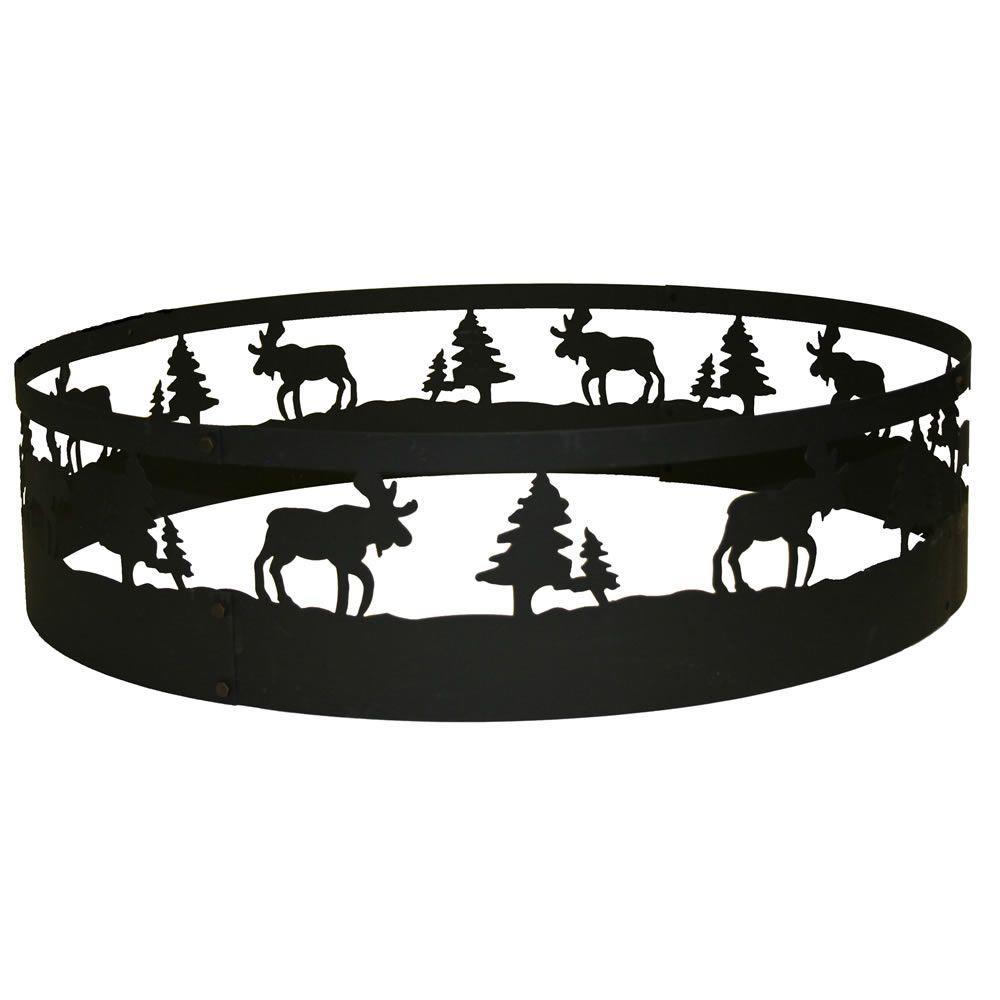 CobraCo 36 in. Moose Campfire Ring