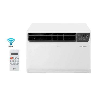 22,000 BTU Dual Inverter Smart Window Air Conditioner with WiFi Enabled and Remote