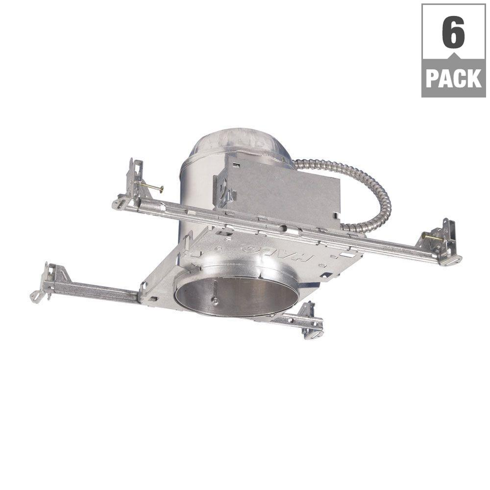 Halo H7 6 in. Aluminum Recessed Lighting Housing for New ...
