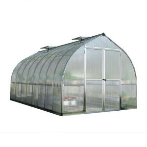 Palram Bella 8 ft. x 16 ft. Silver Polycarbonate Greenhouse by Palram