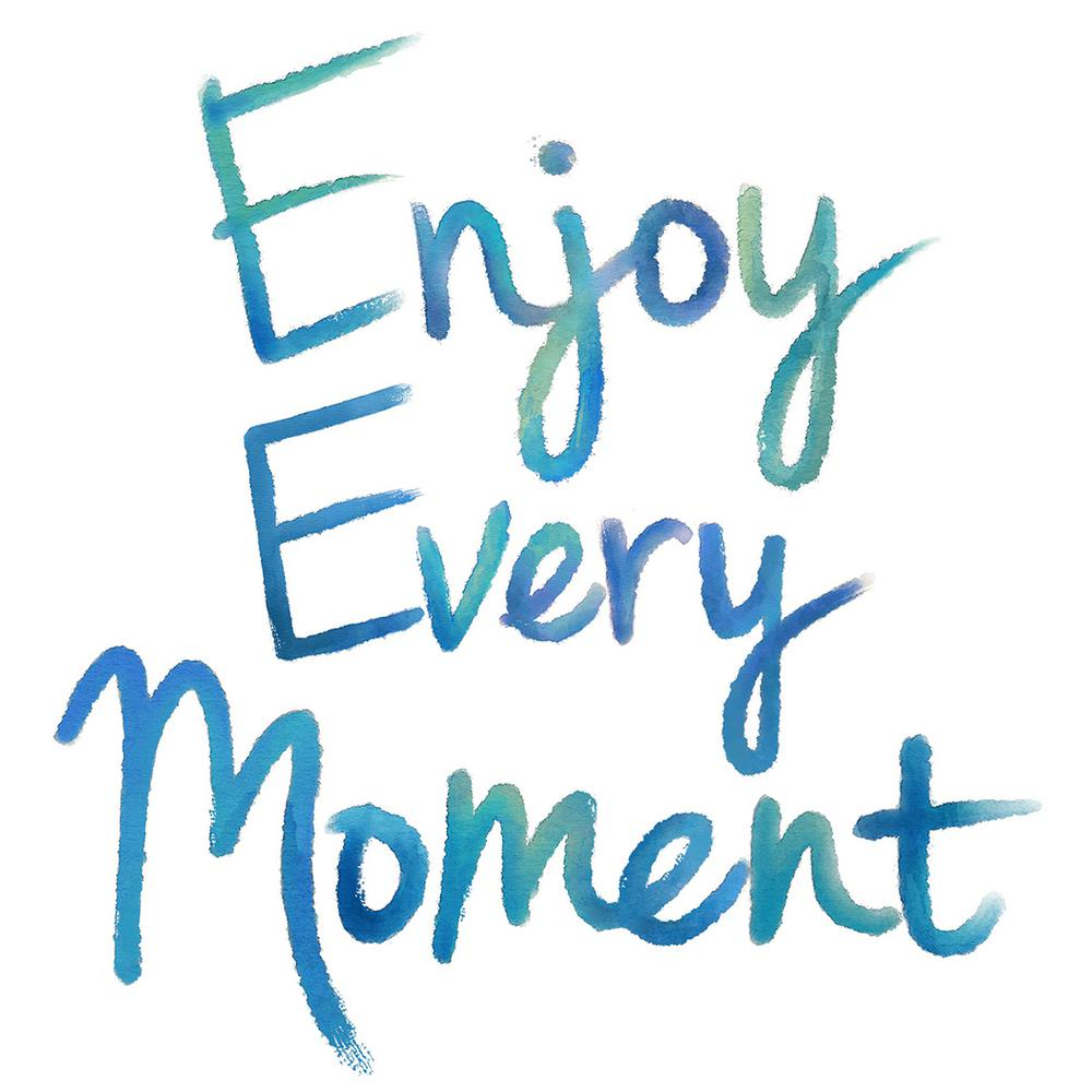 WallPOPs 1725 In X 195 Enjoy Every Moment Wall