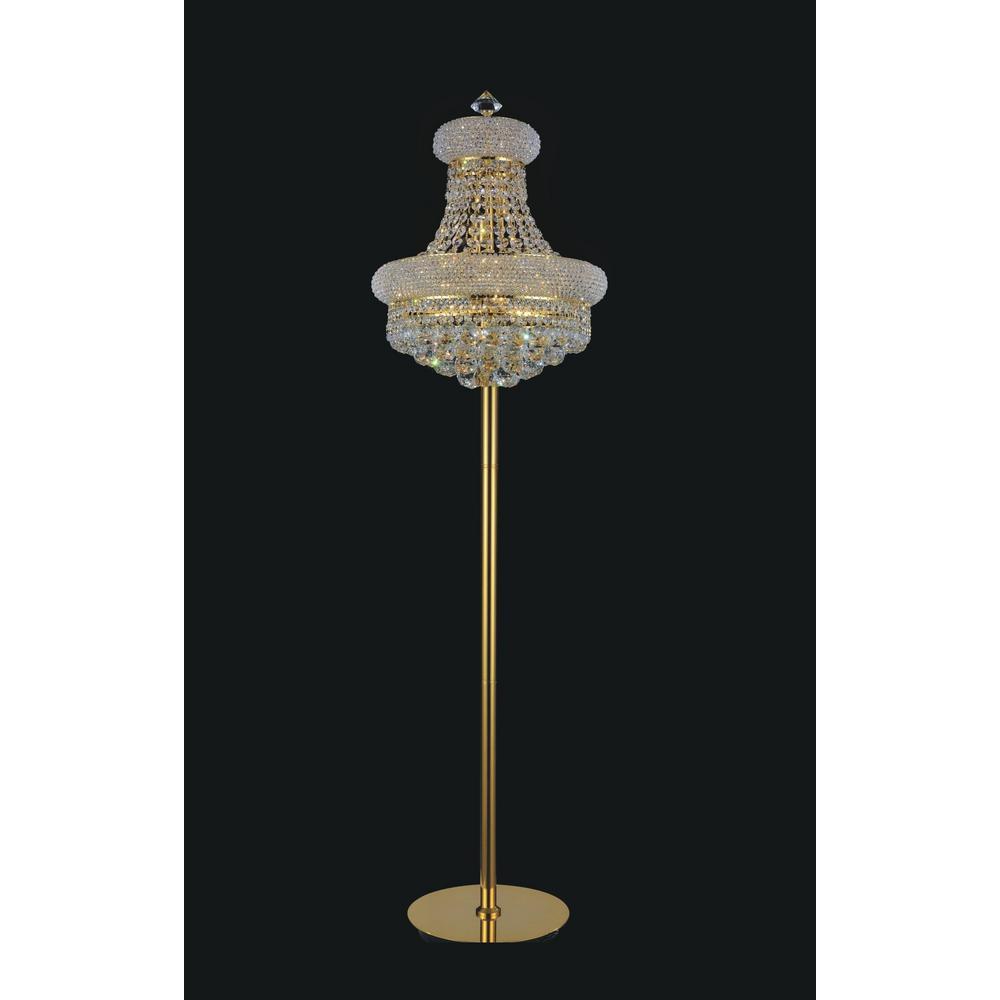 Empire 60 in. Gold Floor Lamp