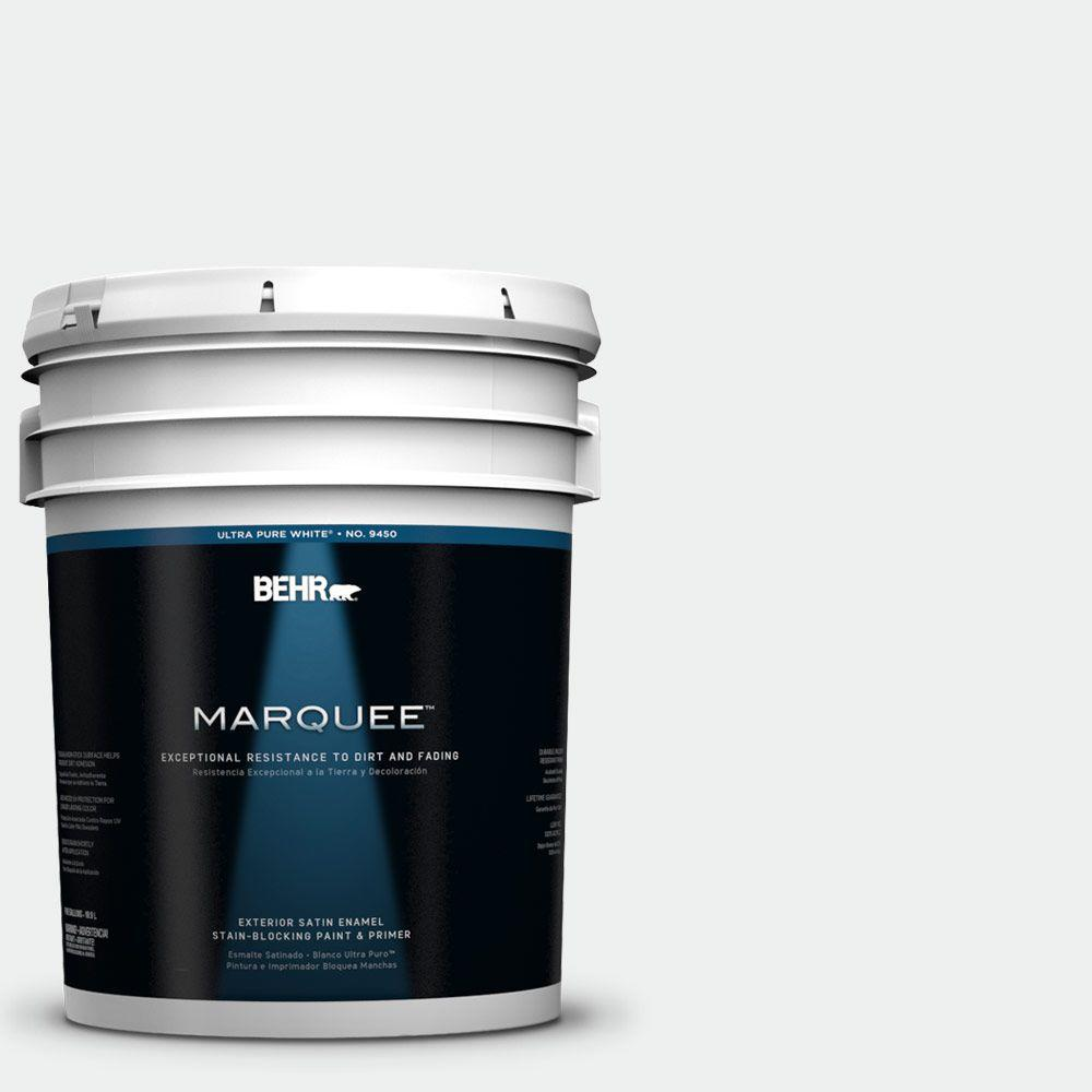 BEHR MARQUEE 5 gal. #57 Frost Satin Enamel Exterior Paint