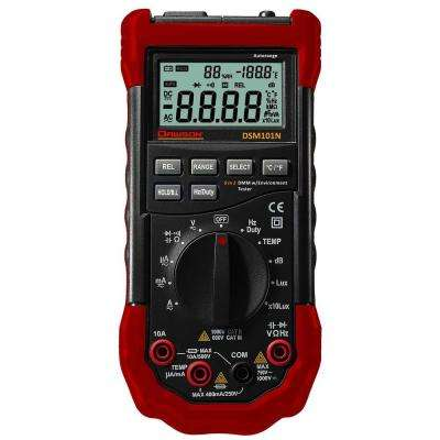Digital Multimeter with Environmental Testers