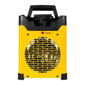 5,100 BTU Electric Forced Air Space Fan Heater with LED Light and USB