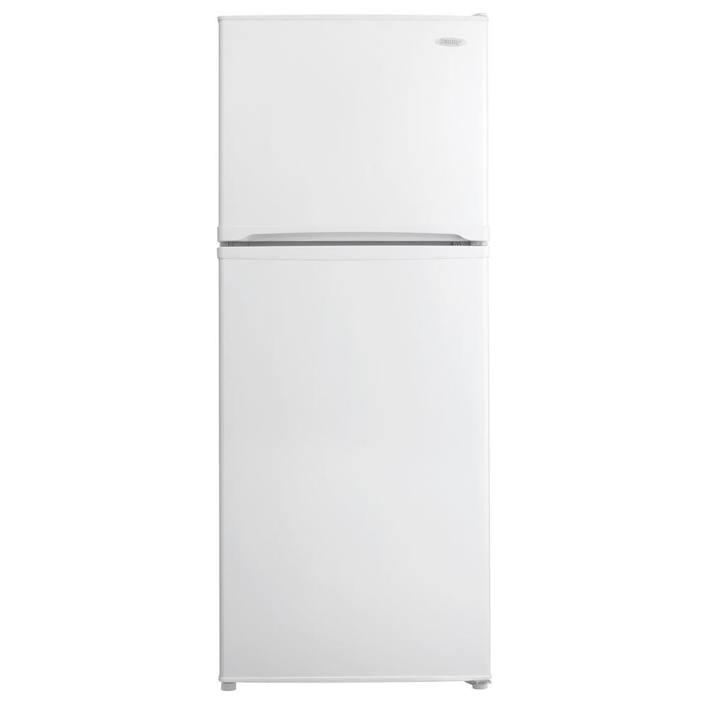 Danby 10 cu. ft. Top Freezer Refrigerator in White, Counter Depth-DISCONTINUED