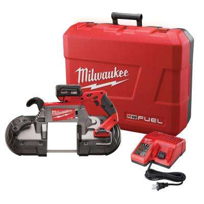M18 FUEL 18-Volt Cordless Brushless Lithium-Ion Deep Cut Band Saw 1-Battery Kit