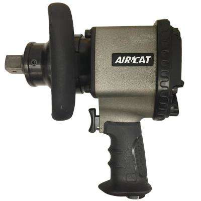 Aircat 1 in. Pistol Grip 2-Jaw Clutch Impact Wrench