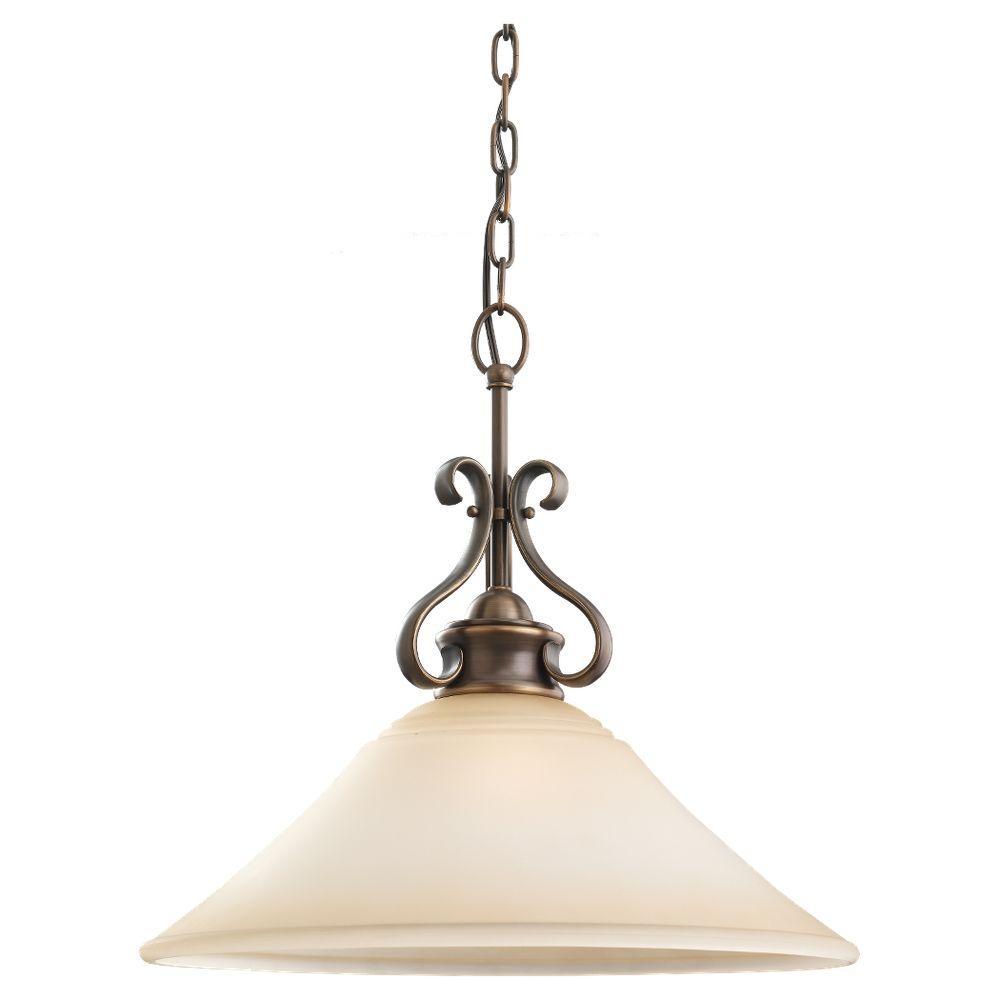 Parkview 1-Light Russet Bronze Pendant