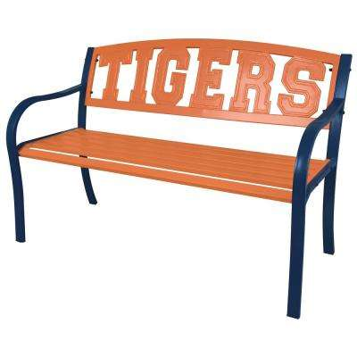 Auburn Tigers Metal Patio Bench