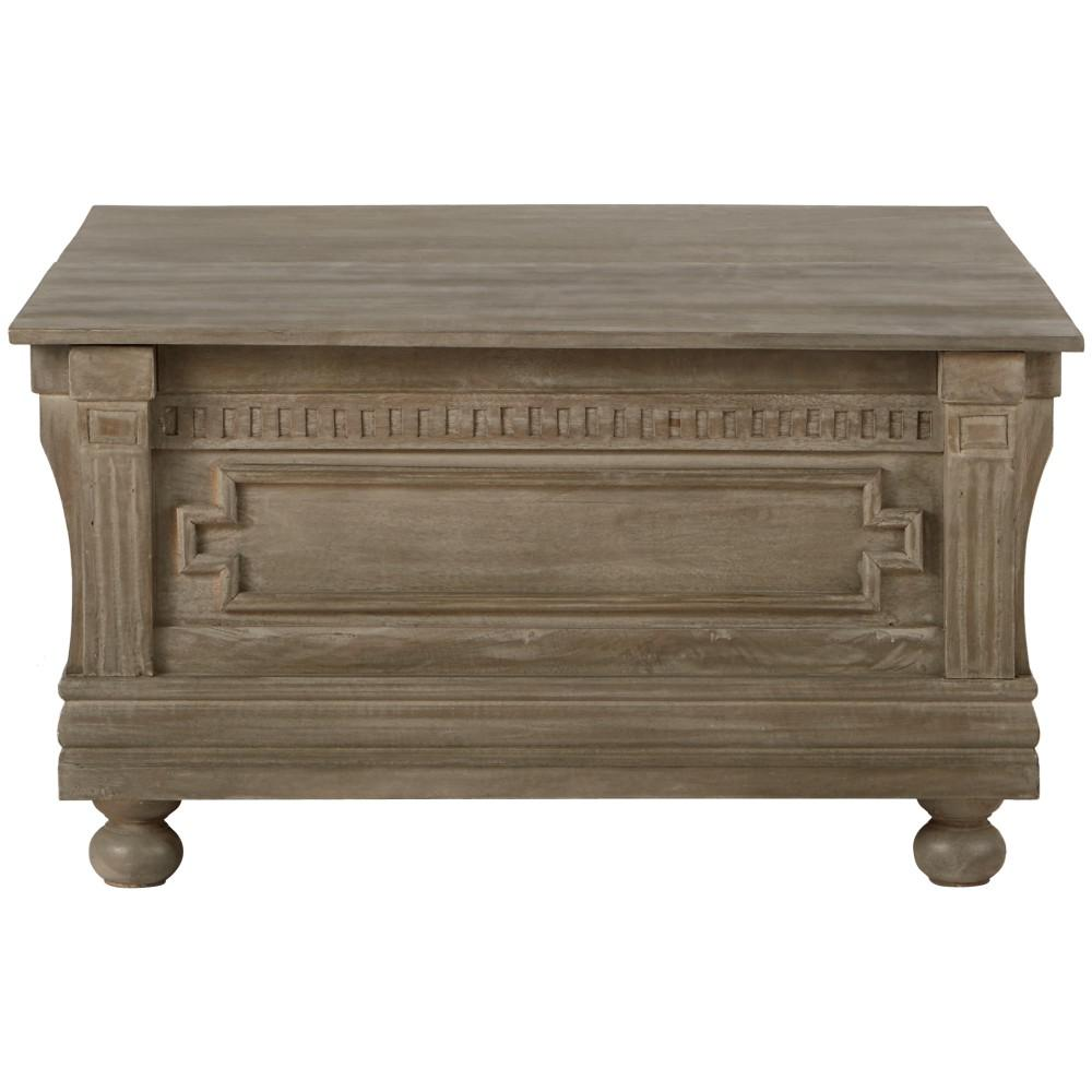 Home decorators collection parker washed grey built in Home depot decor