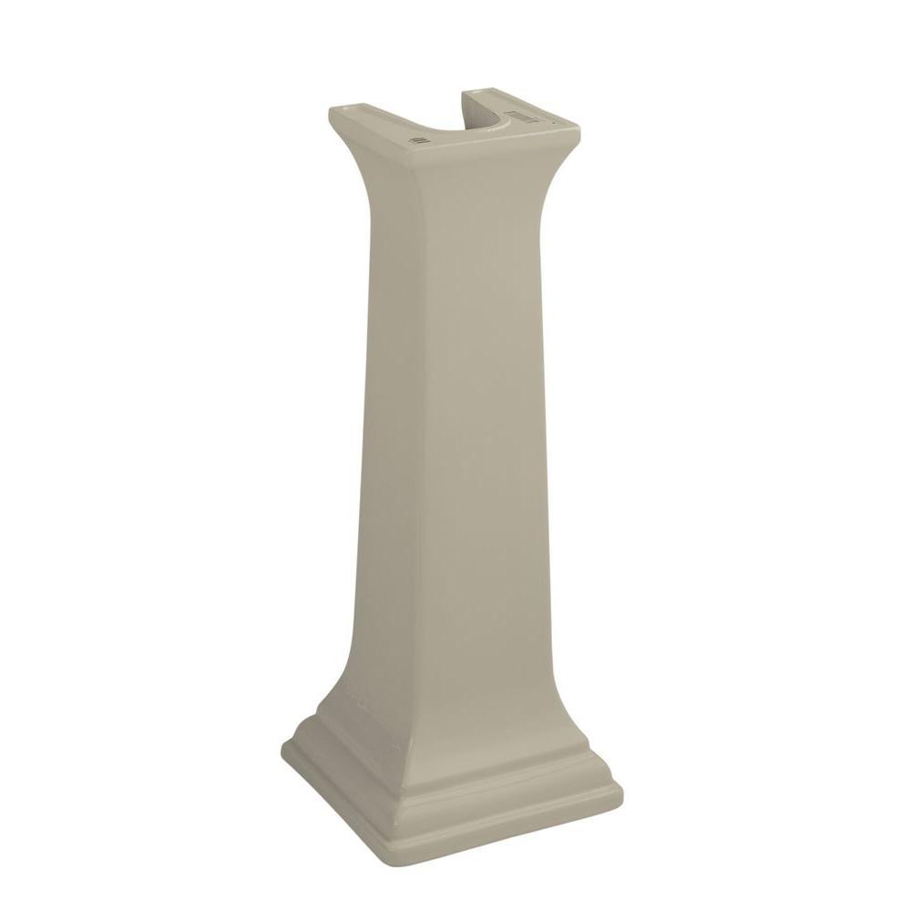 KOHLER Memoirs Ceramic Pedestal in Sandbar