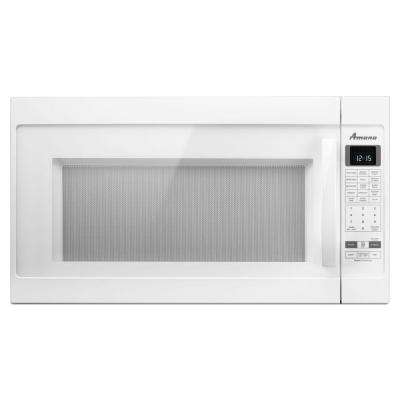 2.0 cu. ft. Over the Range Microwave in White with Sensor Cooking
