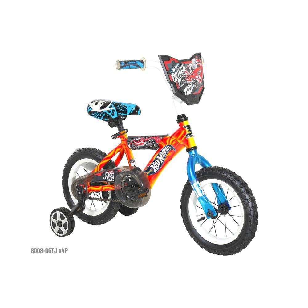 12 in. Boys Bike Hot Wheels