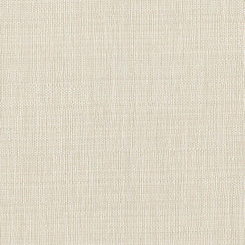 Brewster Taupe Linen Texture Wallpaper-3097-48 - The Home ...