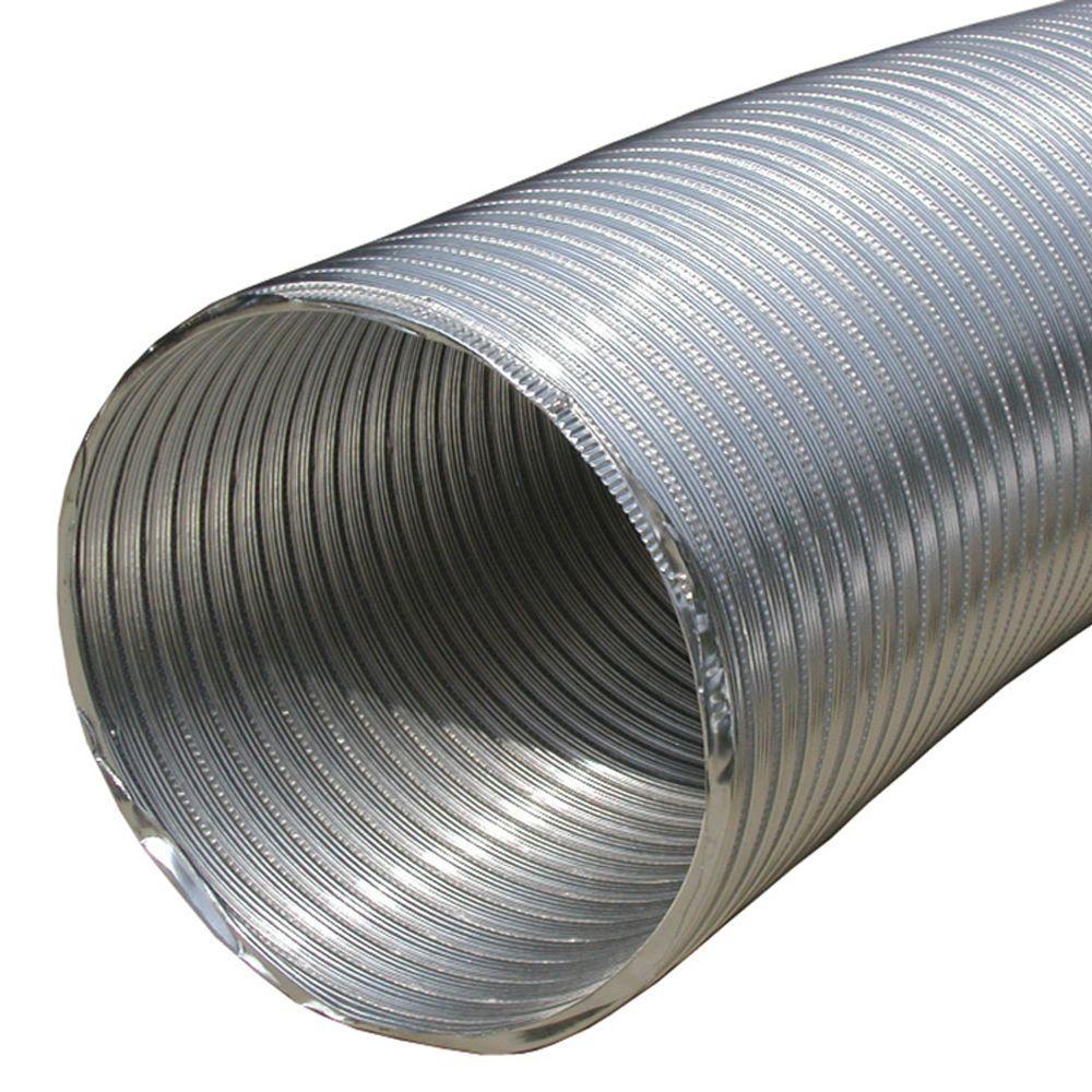 4 in. x 60 in. Round Aluminum Flex Pipe