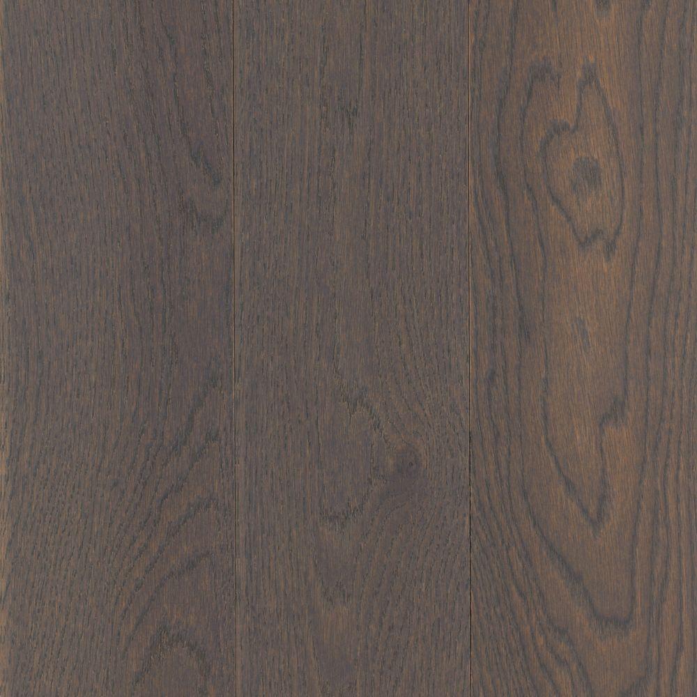 Take Home Sample - Arlington Silvermist Oak Solid Hardwood Flooring - 5 in. x 7 in.