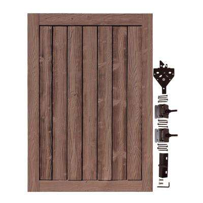 4 ft. W x 6 ft. H Ashland Red Cedar Composite Privacy Fence Gate