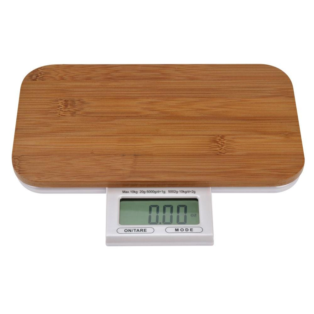 KALORIK Electronic Bamboo Kitchen Scale-DISCONTINUED