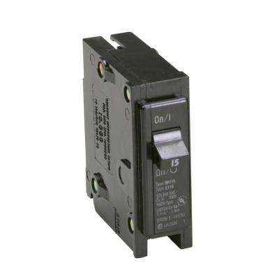 BR 15 Amp Single-Pole Circuit Breaker