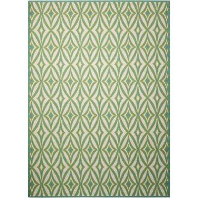 Centro Carnival 8 ft. x 11 ft. Indoor/Outdoor Area Rug