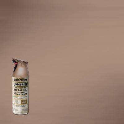 11 oz. All Surface Metallic Satin Bronze Spray Paint and Primer in One