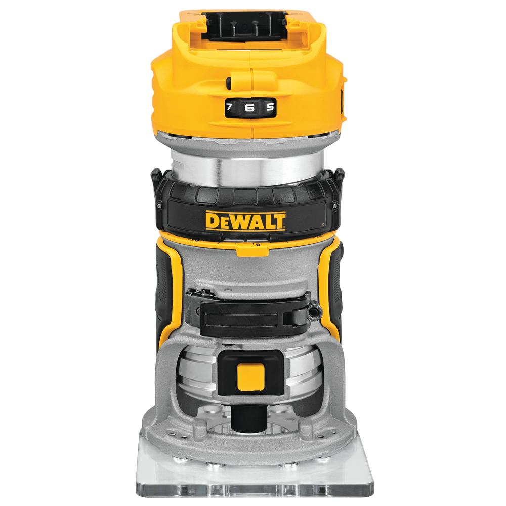 DeWalt DEWALT 20-Volt MAX XR Lithium-Ion Cordless Brushless Router (Tool-Only)