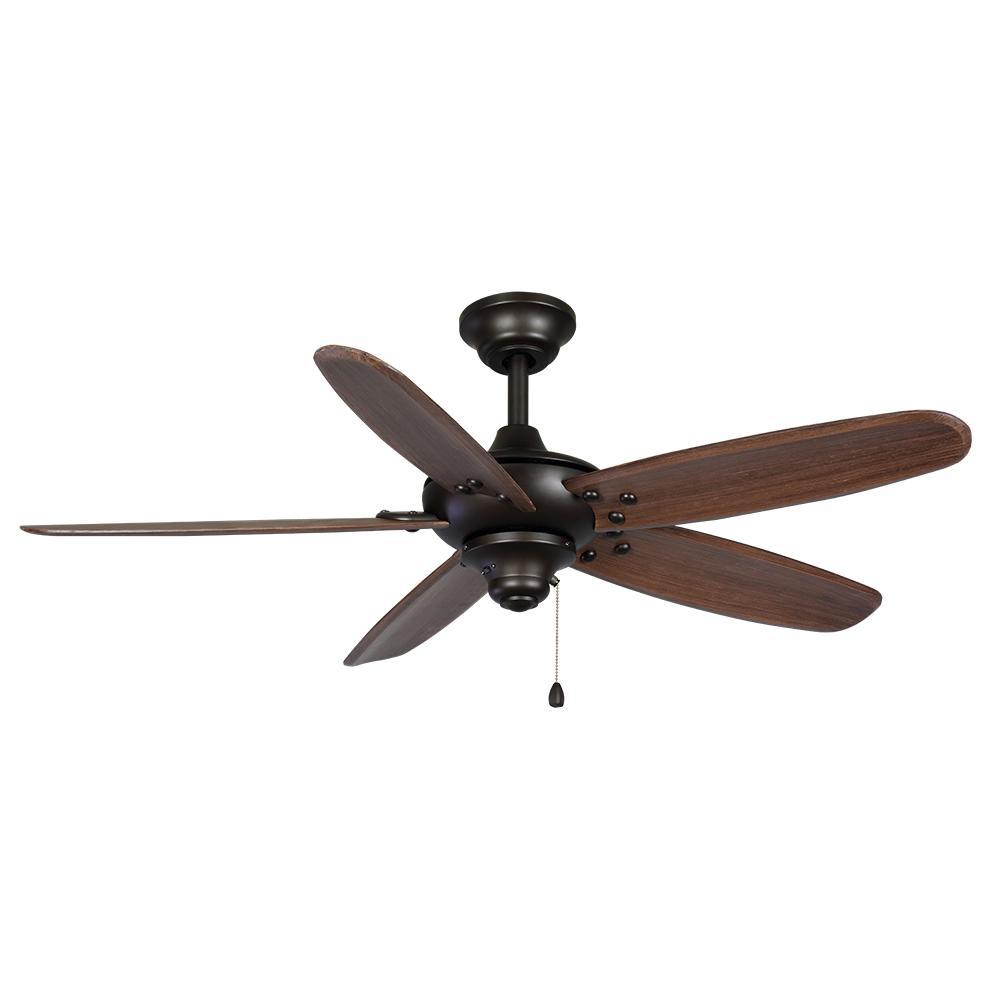 Altura 48 in. Indoor/Outdoor Bronze Ceiling Fan