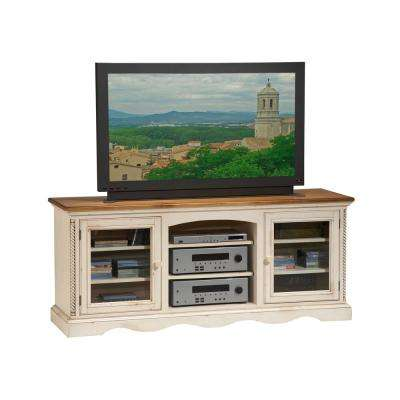 Wilshire Entertainment Console in White