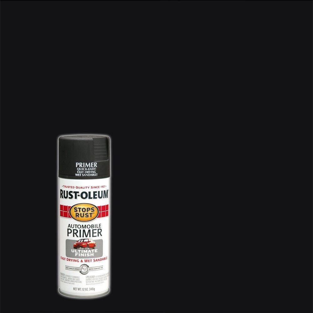 Rust-Oleum Stops Rust 12 oz. Flat Dark Gray Automotive Primer Spray