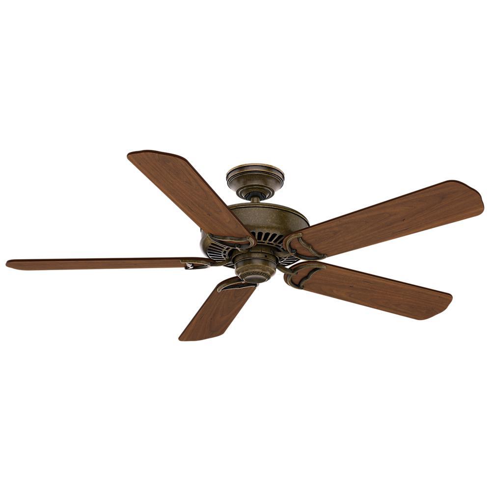 Hampton Bay Lillycrest 52 In Indoor Outdoor Aged Bronze