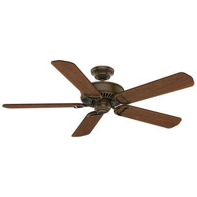 Panama 54 in. Indoor Aged Bronze Ceiling Fan