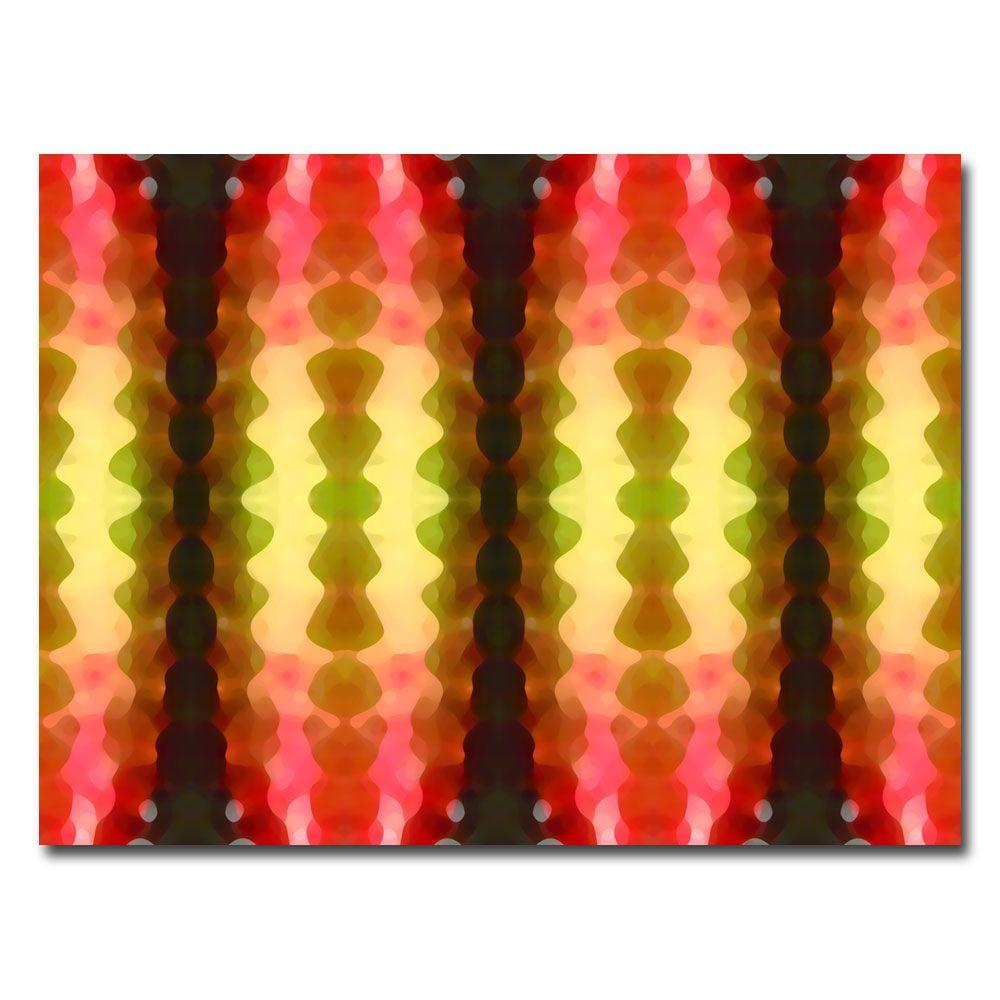 Trademark Fine Art 26 in. x 32 in. Cactus Vibrations Canvas Art