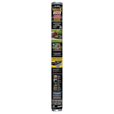 3 ft. x 100 ft. Dalen Products Roll Landscape Fabric