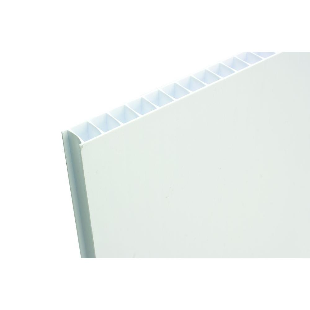 Coroplast 48 in x 96 in x 0 393 in Fluted Twin Wall