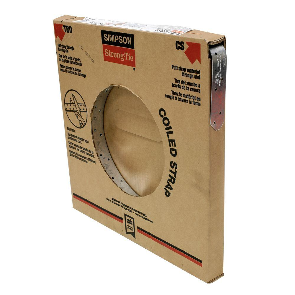 Simpson Strong-Tie 200 ft. 18-Gauge Coiled Strap