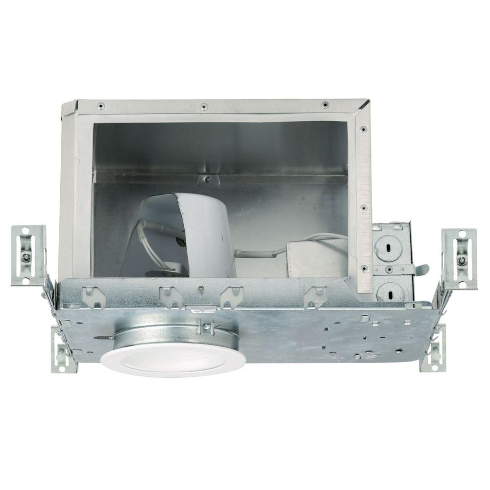 NICOR 4 in. Recessed Low-Voltage IC Rated Airtight Housing