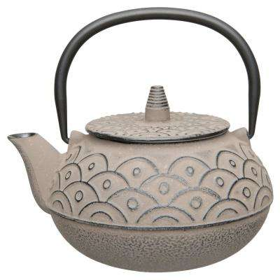 Studio 8 Qt. Cast Iron Grey Teapot