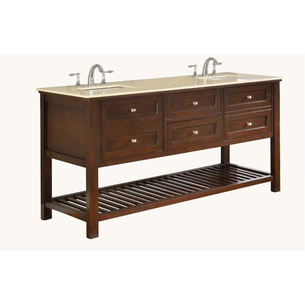 pictures of undermount kitchen sinks direct vanity sink mission spa 70 in vanity in 7493