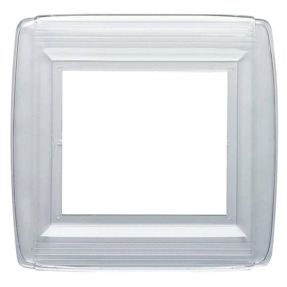 Double-Gang Plastic Wall Shield
