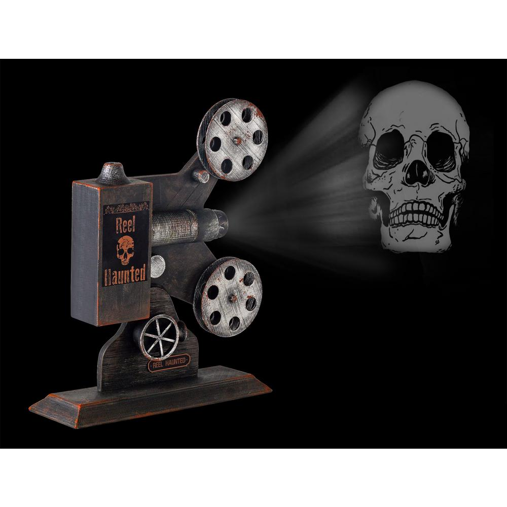 Home Accents Holiday 13 In Haunted Theater Projector With