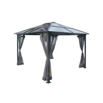 10 ft. x 12 ft. Polycarbonate Gazebo