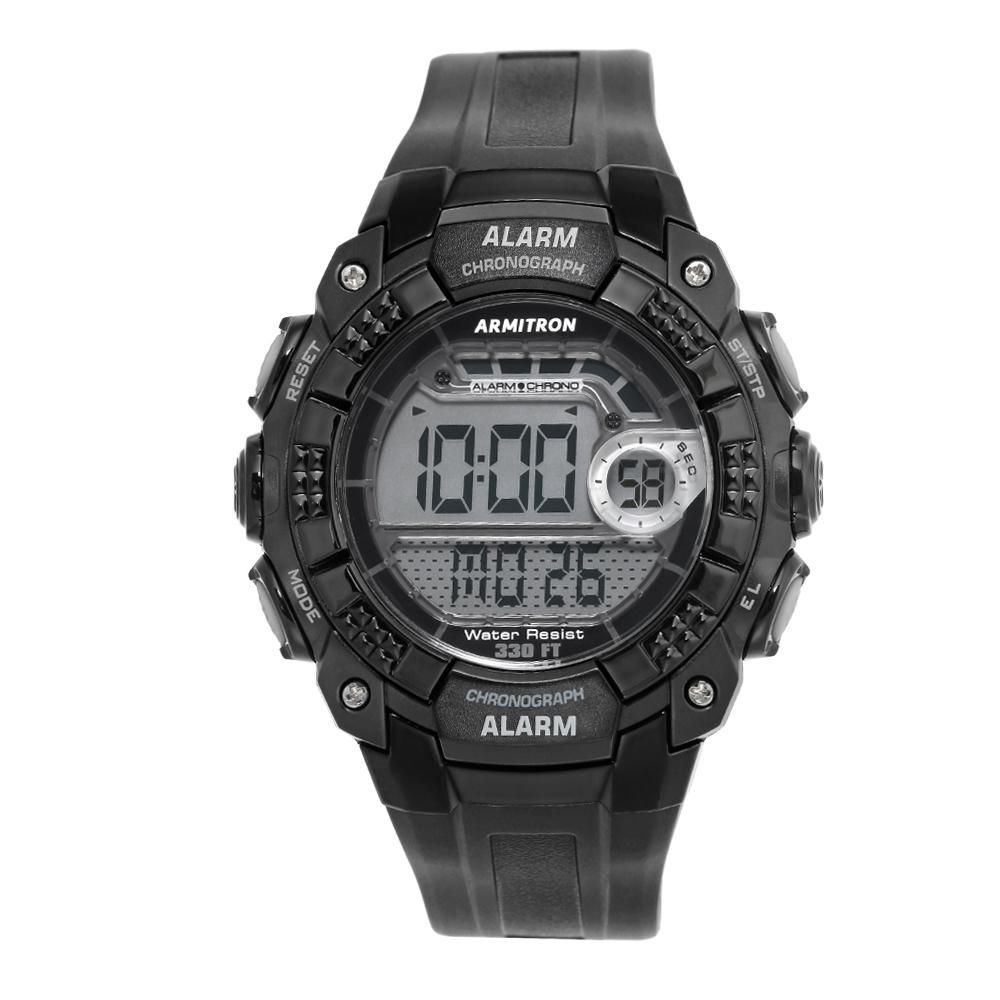Armitron Pro Sport Black Digital Chronograph Watch